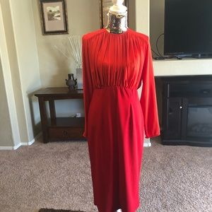 Asos 2in1 Red Pencil Dress NWT